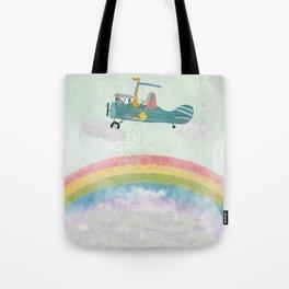 creating rainbows Tote Bag