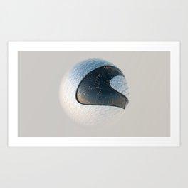 I Like Sphere - Silk Art Print
