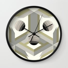 ECLIPSED 3 Wall Clock