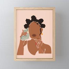 Mo' Money, No Problems Framed Mini Art Print