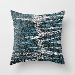 Textured brushstrokes - Sarah Bagshaw Throw Pillow