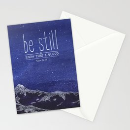 Be Still & Know That I am God Stationery Cards