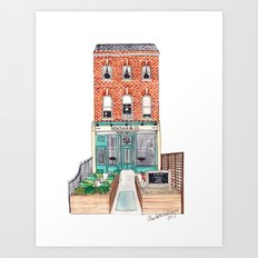 London: Wallace & Co. by Charlotte Vallance Art Print