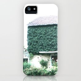 Wine maker house iPhone Case