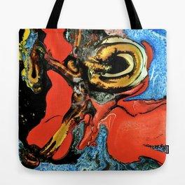 Color Explosion 6 Tote Bag