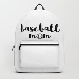 baseball mom Backpack