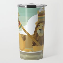 Judah Lion Travel Mug