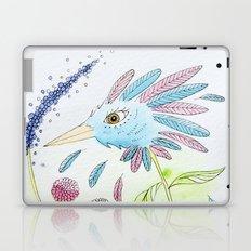 Flower-bird Laptop & iPad Skin