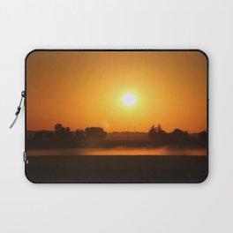 Morning haze Rises Laptop Sleeve