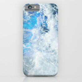Blue Ocean Glow iPhone Case