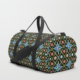 Elizabethan Lattice Duffle Bag