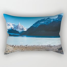 Laguna Torre, Patagonia, Argentina Rectangular Pillow