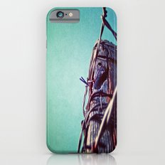 Barbed Wire Blue iPhone 6s Slim Case