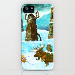 Scott's Tale - January iPhone Case