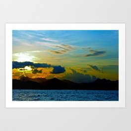 The Other Side of Hong Kong Art Print