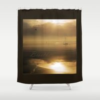 breathe Shower Curtains featuring Breathe by DebS Digs Photo Art