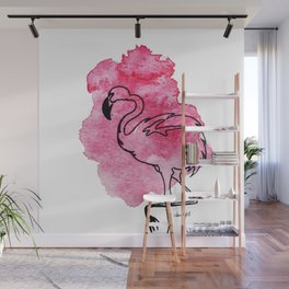 Chill in Pink Wall Mural