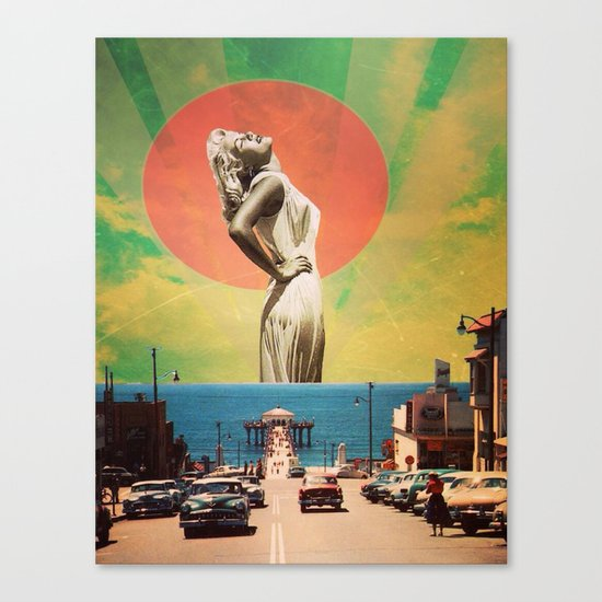 West Coast Vibe Canvas Print