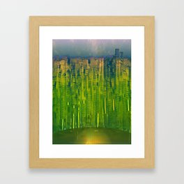 Kryptonic Place / Urban 25-12-16 Framed Art Print