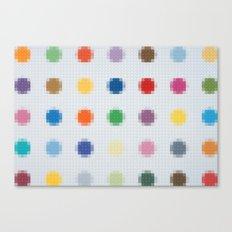 Lego: Spots Canvas Print