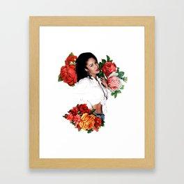 Floral Queen Framed Art Print