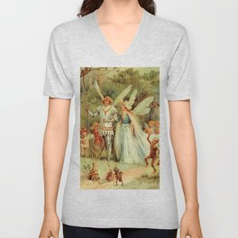 """""""The Arrival of the King and Queen"""" by E S Hardy Unisex V-Neck"""