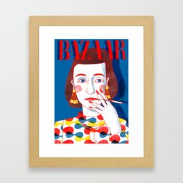 Diana Vreeland Framed Art Print