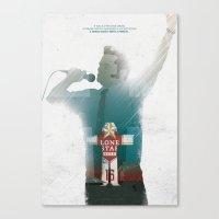 True Detective - The Locked Room Canvas Print