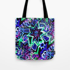 Pop Art Blues Tote Bag