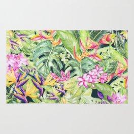 Tropical Garden 1 #society6 Rug