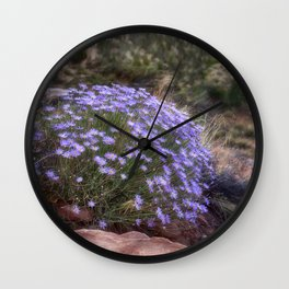 Wildflowers at Capitol Reef Wall Clock