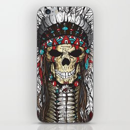 WAR BONNETT iPhone Skin