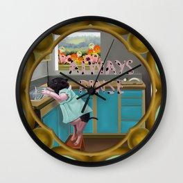 Kitchen Helper Wall Clock