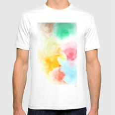 Haze MEDIUM Mens Fitted Tee White