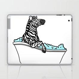 Bathtub zebra Laptop & iPad Skin