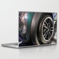 bmw Laptop & iPad Skins featuring BMW Mini Paceman Wheel by Mauricio Santana
