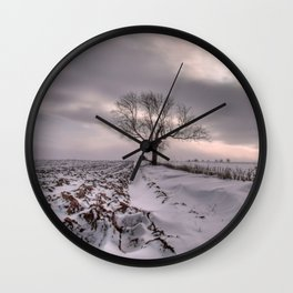 Cold and Lonely Wall Clock