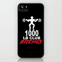 weightlifter iPhone Case