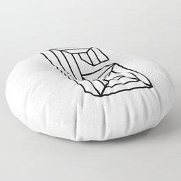 Letter G Floor Pillow