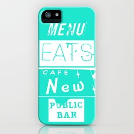 EATS iPhone Case