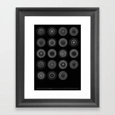 Demi-Stock (Black Poster) Framed Art Print