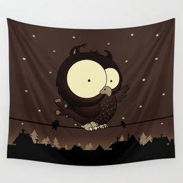 Little owl v2 Wall Tapestry