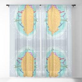 Yoga Seed Sheer Curtain