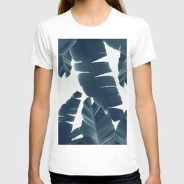 Banana Leaves Green Blue Vibes #2 #tropical #decor #art #society6 T-shirt