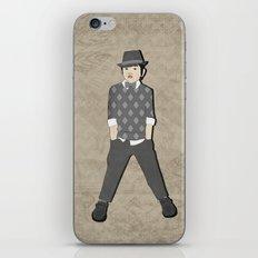 Boys formal wear gray argyle iPhone & iPod Skin
