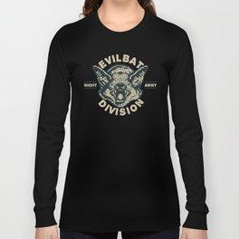 Evil Bat Division Long Sleeve T-shirt