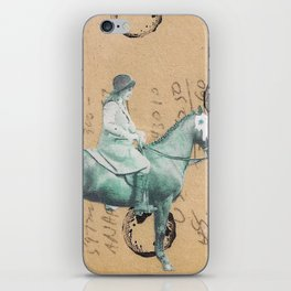 """Prized Pony"" iPhone Skin"