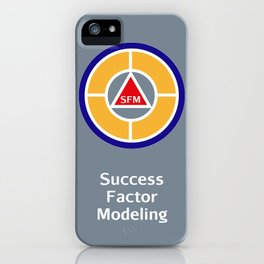 Success Factor Modeling Logo iPhone Case