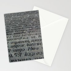 ground texture Stationery Cards