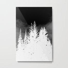 Ghost Trees Metal Print